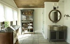 Bathroom for a country house