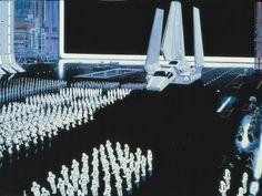 """Die handgemalten Orte aus """"Star Wars - Krieg der Sterne""""   The Creators Project"""