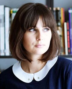 Bob With Bangs | The Best Short Hairstyles for Women 2015