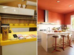 Ao projetar a cozinha de nossa casa é normal ficarmosem dúvida quanto à bancada. Qual material usar? Qual a medida ideal? Quais cores e texturas combinam? Por existir muita oferta no mercado de decoração