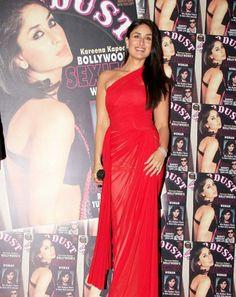 Kareena Kapoor in red saree
