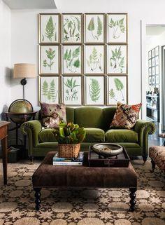 Ботаника в интерьере - Дизайн интерьеров   Идеи вашего дома   Lodgers