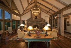 western style living room - Google Search