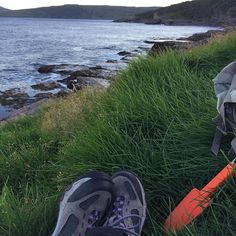 We set up camp in a most spectacular spot along the East Coast Trail in Newfoundland after a long day of hiking.  #wwwECT #visitnewfoundland #exploreNL #exploreCanada