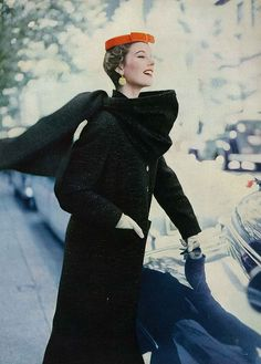 August Vogue 1953 by Roger Prigent