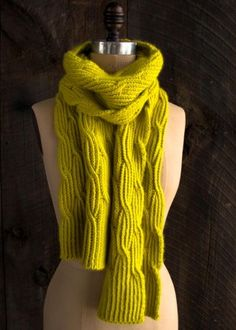 Reversible Rivulet Scarf | The Purl Bee