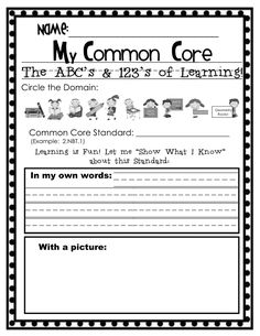 Ideas for Common Core and New Teacher Evaluation System