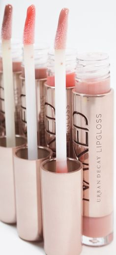 Urban Decay Naked Ultra Nourishing Lipgloss Collection