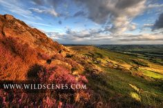 The nights are drawing in and the days are getting shorter, but the late summer sun is really at its best just now, especially when it falls on a stunning vista like this. This is Curbar Edge in Derbyshire with late summer light bathing the purple flowering heather moorland and kissing the edges of…