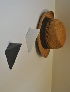 Concrete Wall Hook by fmcdesign on Etsy  Could make these DIY and paint bright colours?