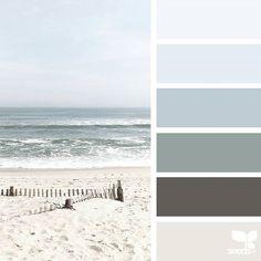 Explore Design Seeds color palettes by collection. Interior Paint Colors For Living Room, Paint Colors For Home, House Colors, Bedroom Colors, Paint Color Schemes, Colour Pallete, Color Palettes, Color Combinations, Color Concept