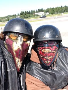 Badass Barren masks on the road! #barrenculture