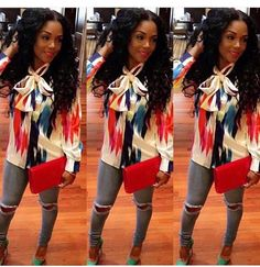 #Tie neck blouse Rasheeda  Slayed  Bow neck  Super cute Slayed