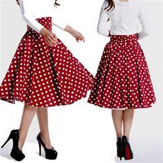 rockabilly retro psychobilly skirt