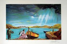 """Salvador Dalí: """"El Ángel de Cadaqués"""" 224/300 - Subasta Real"""
