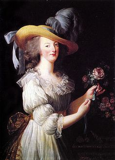 Ritratto dell'imperatrice Eugenia con le sue dame d'onore - Wikipedia_Queen Antoinette in muslim dress Vigee Le Brun,Belle jardinière (beautiful female gardener) is a type of female portrait during 18th century (mostly Rococo period) and early 1800s (sentimentalism). The main attributes are the straw hat and flowers