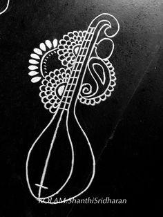 Rangoli Patterns, Rangoli Ideas, Henna Patterns, Mural Painting, Mural Art, Fabric Painting, Art Paintings, Traditional Paintings, Traditional Art