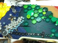 Bottle Cap Mural: How did you