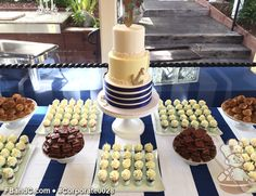 Cake & Dessert Table for The Perry House's 5th Year Celebration!