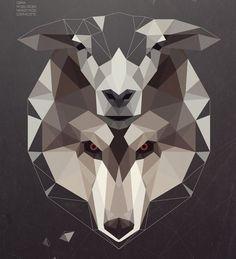 wolfinsheepskin 20 Amazing Geometric Illustration Designs