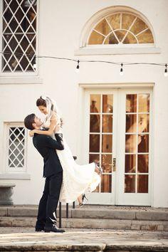Great wedding pose