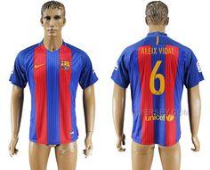 http://www.xjersey.com/201617-barcelona-6-aleix-vidal-home-thailand-soccer-jersey.html 2016-17 BARCELONA 6 ALEIX VIDAL HOME THAILAND SOCCER JERSEY Only 33.11€ , Free Shipping!