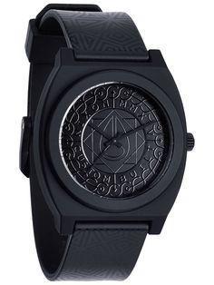 Nixon The Time Teller P all black shadow 60 - Ri