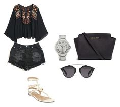 """""""Untitled #172"""" by aandreead on Polyvore featuring MANGO, Valentino, Michael Kors and Christian Dior"""