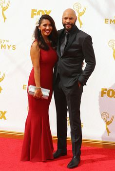 Gayle Ridley (L) and writer/producer John Ridley attend the 67th Annual Primetime Emmy Awards at Microsoft Theater on September 20, 2015 in Los Angeles, California.