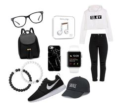 """""""Untitled #16"""" by unicorn2006 on Polyvore featuring NIKE, GlassesUSA, Lokai, Recover and SO"""