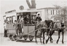 Did you know that the first horsecars in Bucharest were introduced, in by a company with British and Belgian capital? I can only imagine how must have been like to go for a ride with those yellow horse-drawn cars smile emoticon From with love!