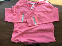 NWT Victoria's Secret Love Pink Pullover Varsity Hoodie Size M #VictoriasSecret #Hoodie #new #cozy #pullover #hdcloset