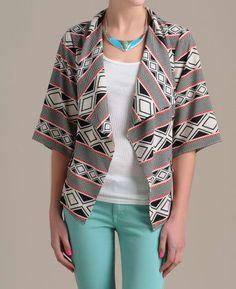 Aryn K Tribal Bed Jacket