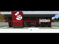 Jollibee Building Step by Step Tutorial Easy Minecraft Houses, Minecraft Houses Blueprints, House Blueprints, How To Build Steps, Jollibee, Cool Stuff, Pets, Simple, Building
