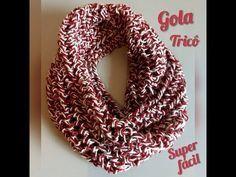 (313) Gola Super Fácil em Tricô - YouTube Knitting Needles, Free Knitting, Knitting Patterns, Drops Design, One Way Street Sign, Drops Lima, Velvet Acorn, Drops Baby, Gold Scarf