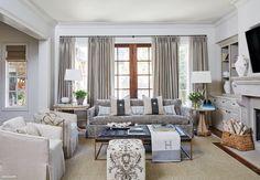 Open neutral living room.