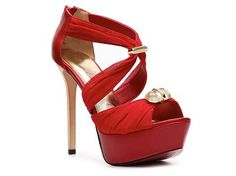 Red high heels - I love red shoes.