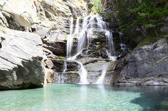 Cascate di Lillaz. Valle d'Aosta.Cogne.Lillaz. #waterfalls #Lillaz #Cogne #Summer