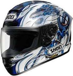 Fantastic Shoei X-12 KIYONARI 2 TC-2 MOTORCYCLE Full-Face-Helmet