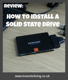Video review on what happened when I installed a Solid State Drive into my laptop.