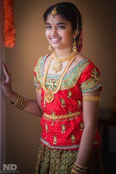 Half Saree Lehenga, Lehenga Saree Design, Kids Lehenga, Anarkali, Long Frocks For Kids, Half Saree Function, Indian Bride Poses, Kids Blouse Designs, Dehati Girl Photo