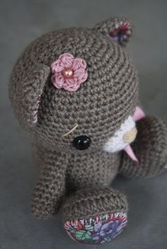 #crochet #amigurumi teddy bear