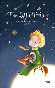 The Little Prince English Korean Book Beautiful Illustration Gift Saint Exupery