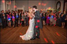 First dance in the ballroom - Wedderburn Castle
