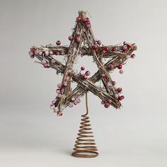 This is now the Bell family tree topper.  The support swirl was a pain to make though.  EB rating 6 out of 10