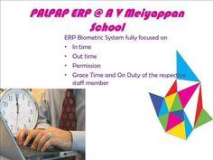 PALPAP ERP @ A V Meiyappan Matriculation High School.