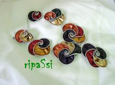 Necklace with nespresso capsules Vortex necklace by ripaSsi