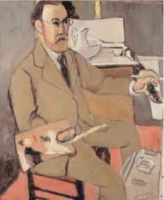 Self-Portrait Henri Matisse, 1918.