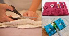 No tires tus toallas viejas, aquí hay algunas ideas para que puedas re-utilizarlas.  Don't throw your old towels. Here are some fantastic ideas for recycle them.