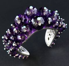 Amethyst, turquoise and platinum cuff.  One of my first pieces.  Shot for upcoming book.  #taffinjewelry #taffin #jamesdegivenchy #jamestaffindegivenchy